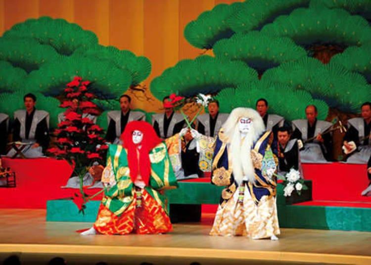 古典艺能的代表——歌舞伎