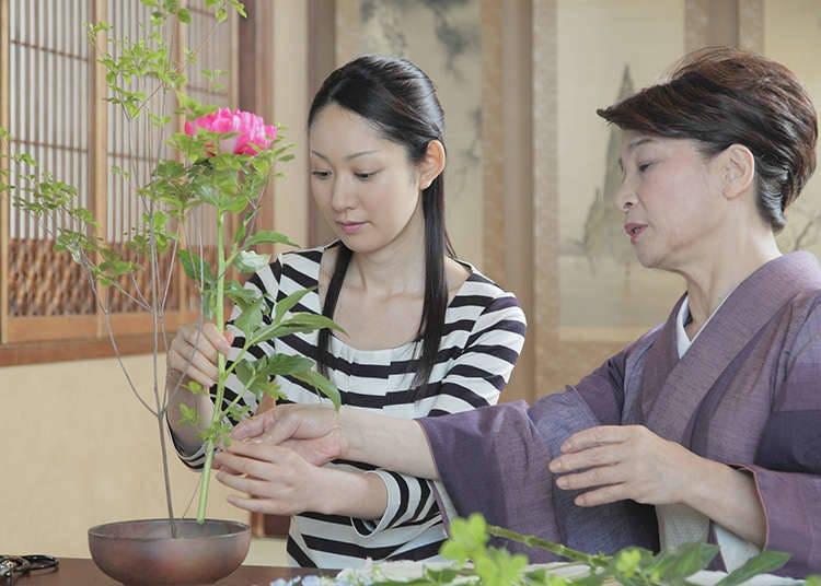 Gaya Presentasi Ikebana