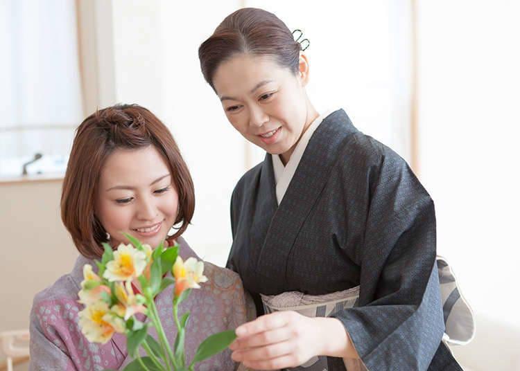 Merasai sendiri pengalaman membuat ikebana