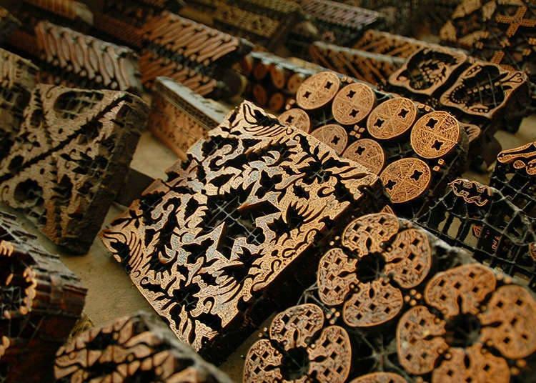 Percetakan blok kayu