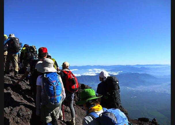 Enjoying Nature ① - Mountain climbing -