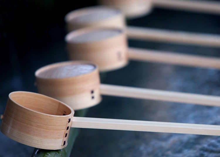 The Chozuya: Pembersihan tubuh