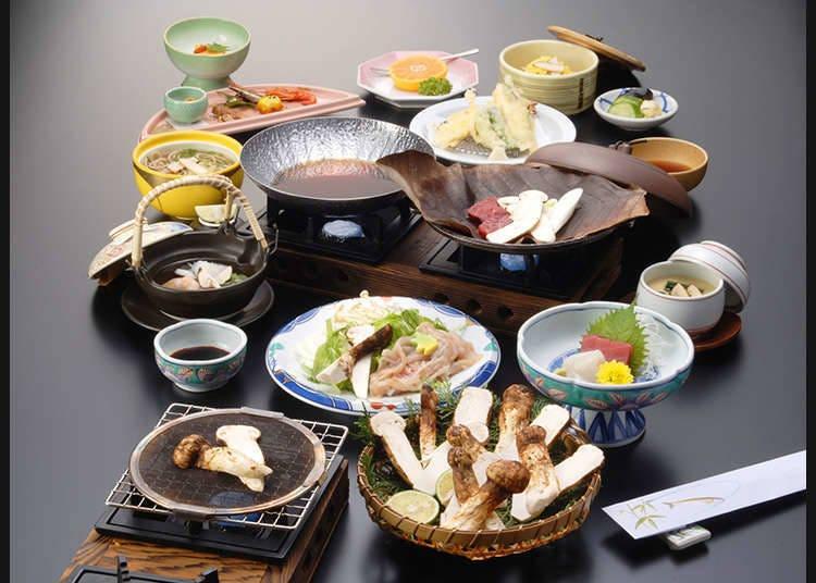 目でも楽しむ日本食