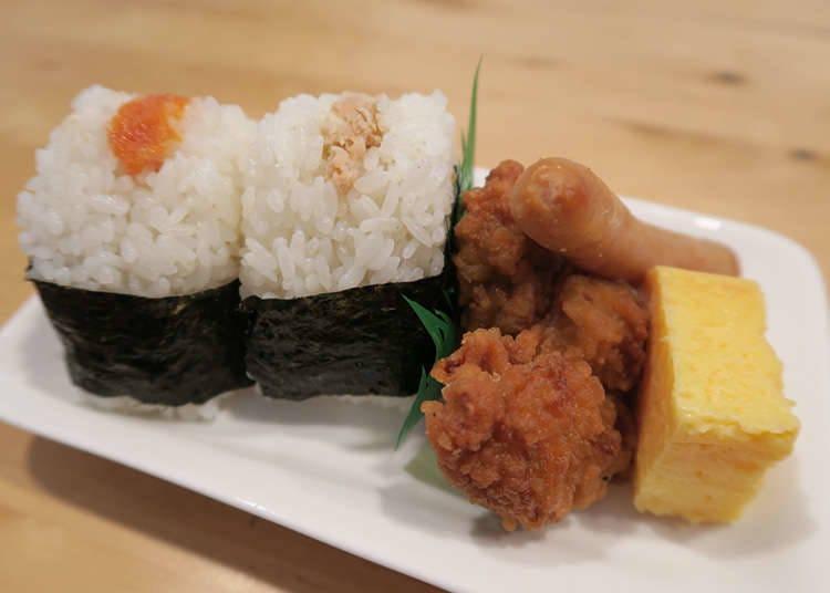 """Onigiri"" (nasi kepal) sebagai makanan ringan"