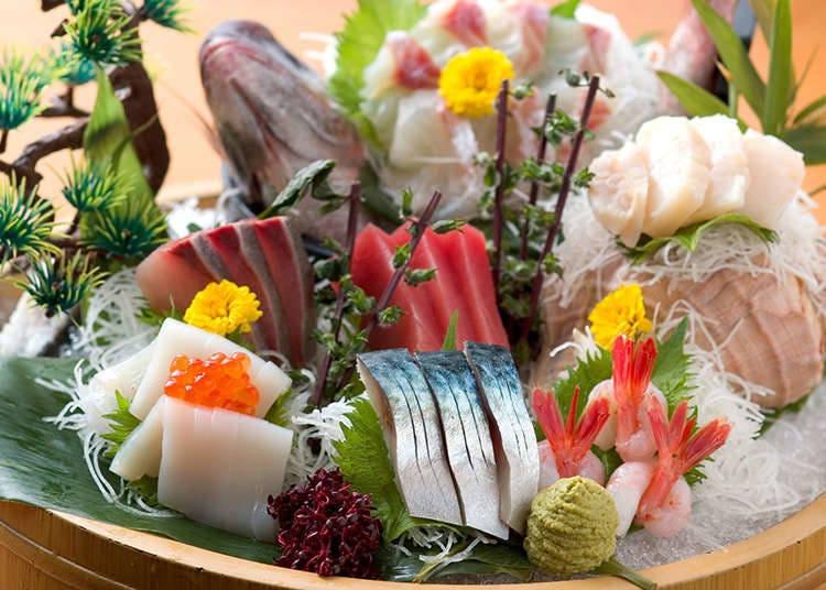 日本料理的擺盤