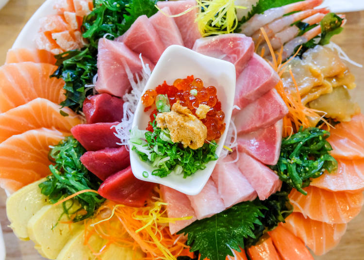 Sashimi and Raw Fish | LIVE JAPAN travel guide