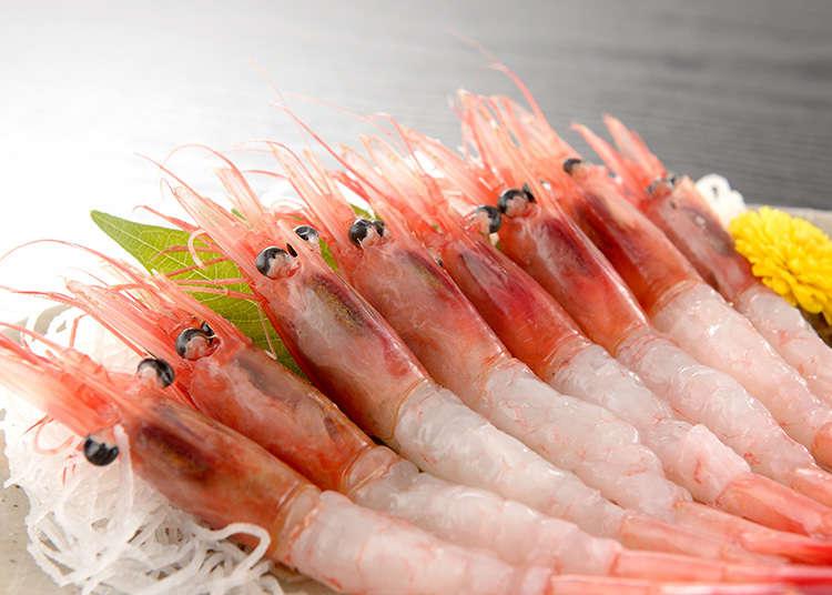 刺身にする魚介類