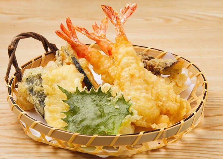 Types of tempura