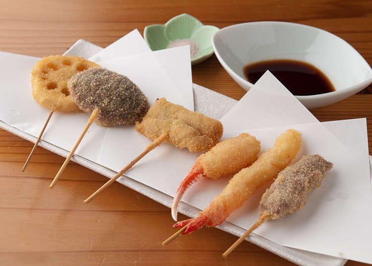 쿠시카츠 - 저렴하고 빠르고 간편하게 먹을 수 있는 오사카의 소울푸드