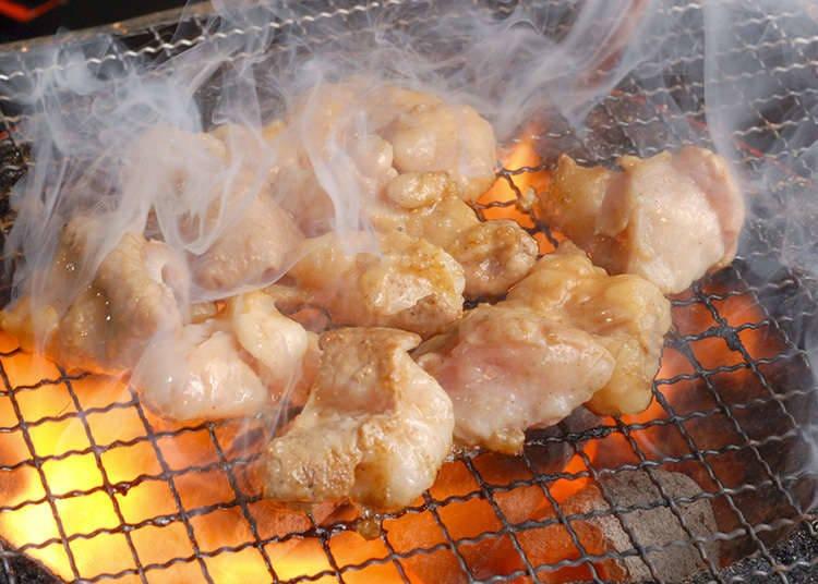 Eating Horumon