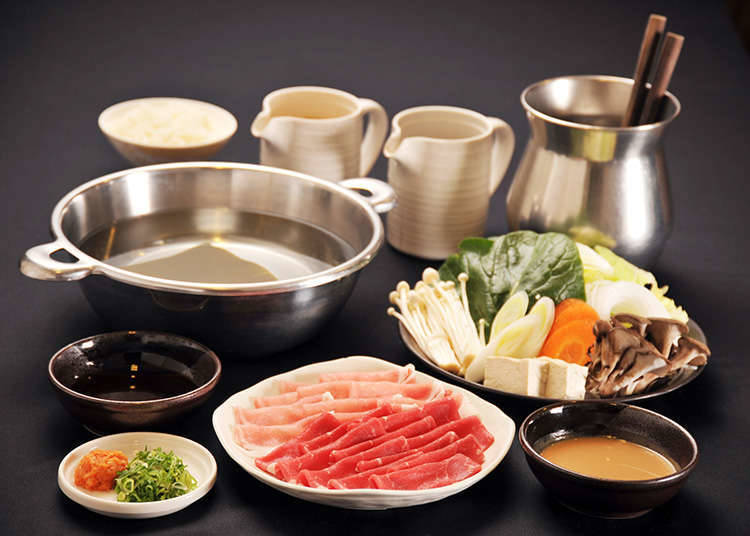 Ingredients for Shabu-shabu