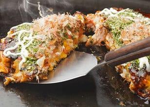 Okonomiyaki, Monjyayaki dan Takoyaki