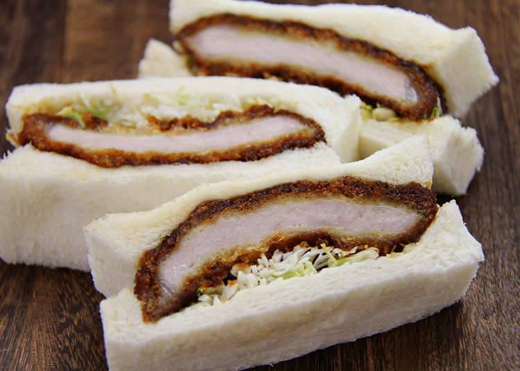 Katsusand (Pork Cutlet Sandwiches)