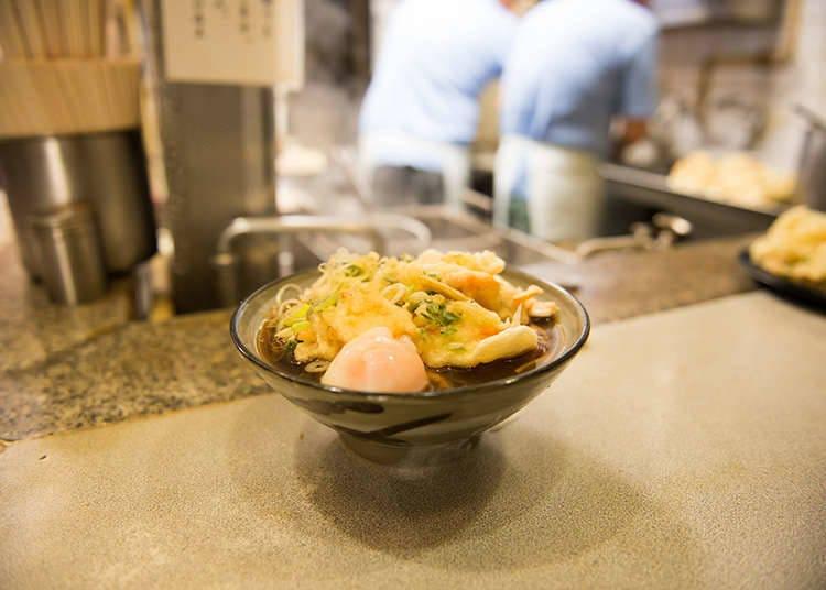 日本的烏龍麵及蕎麥麵