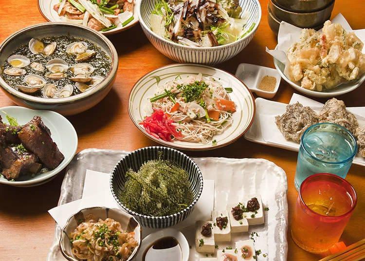 沖繩特有的小菜