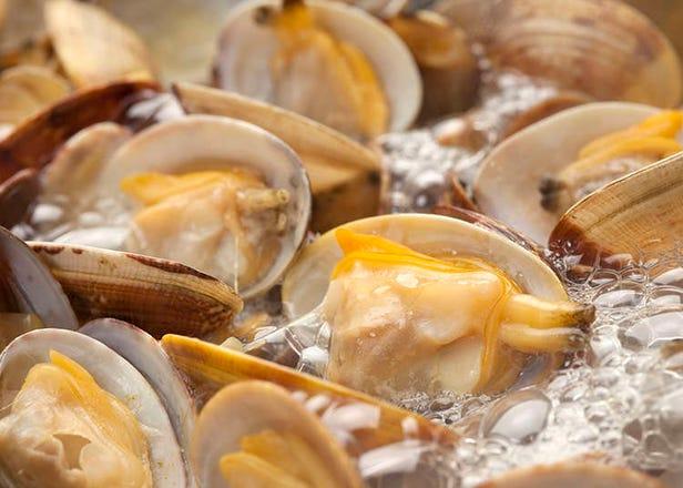 Hidangan kerang dan hidangan makanan laut