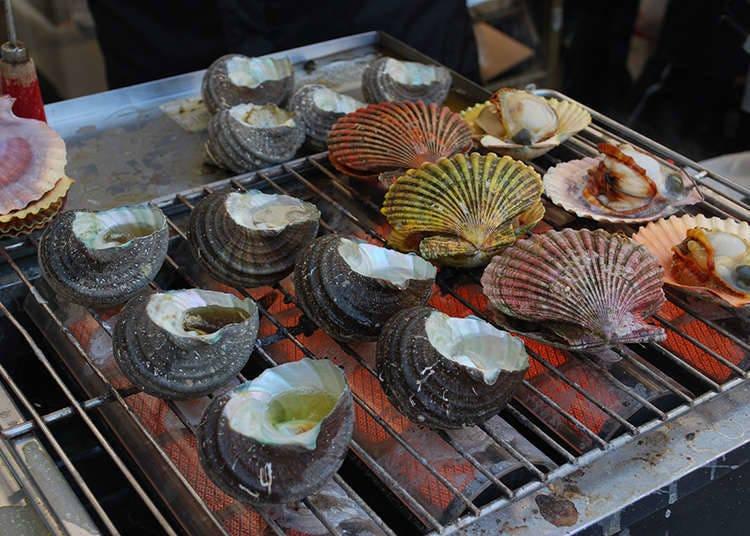 ประวัติความเป็นมาของอาหารประเภทหอยและอาหารทะเลในญี่ปุ่น