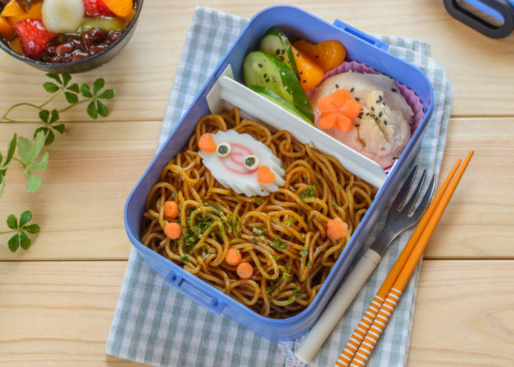 The Typical Bento of Japanese Households