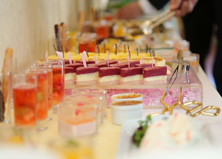 Buffet of the Hotel