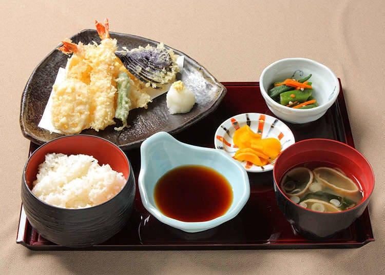 日西合璧的经典菜单
