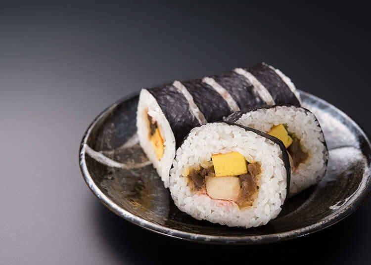 各式各樣的日本壽司