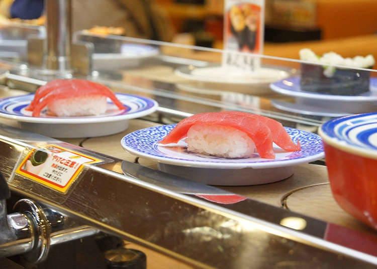 在日本能夠吃到壽司的地方