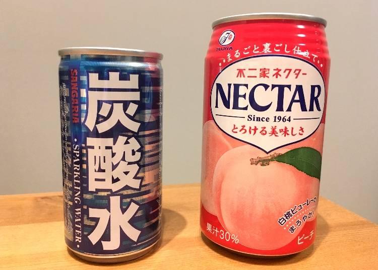 不二家の桃ジュース「ネクター」