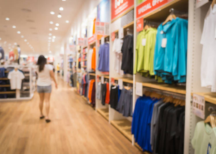6. Check return and exchange policies when clothes shopping in Japan