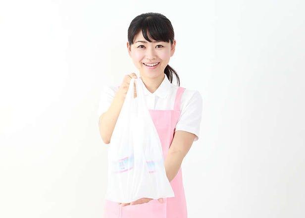 Beg plastic dan beg mesra alam Jepun