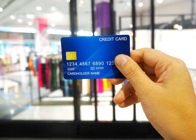 ข้อควรระวังและวิธีการใช้บัตรเครดิตที่ญี่ปุ่น