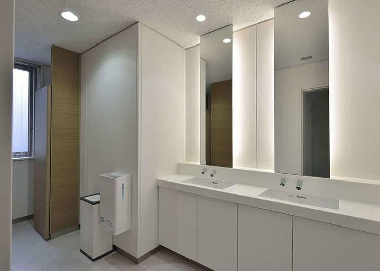 Toilet yang Bersih