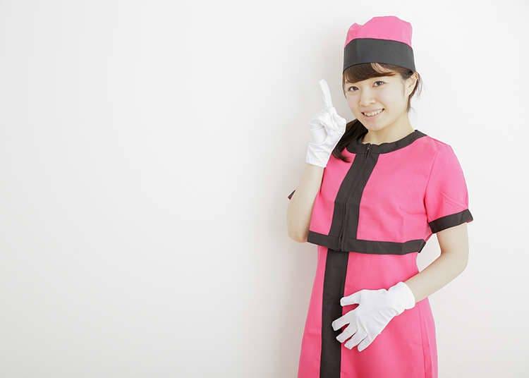 电梯女服务员