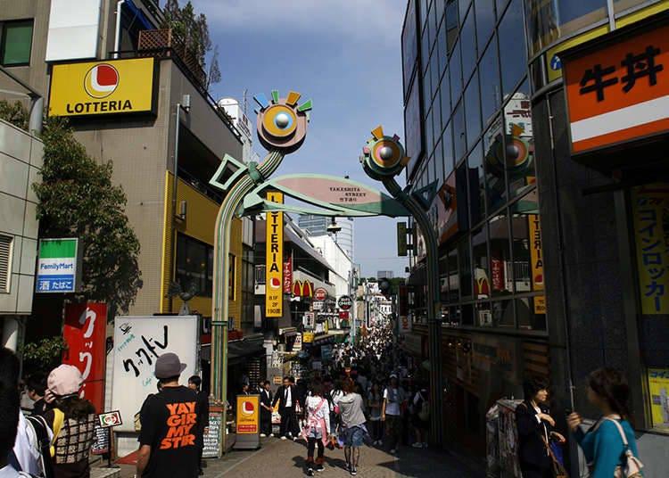 在东京具有代表性的时装街