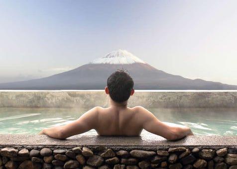 日本的泡澡文化和澡堂的使用方法