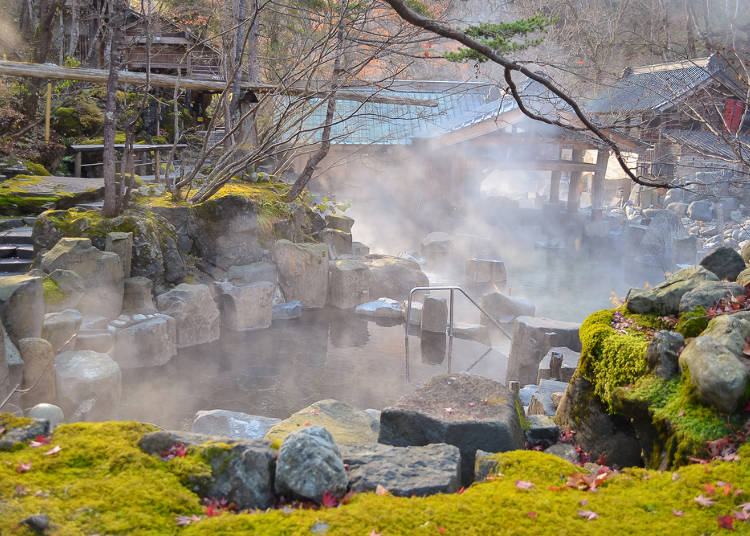 Shared Baths and Hot Springs Day Trips