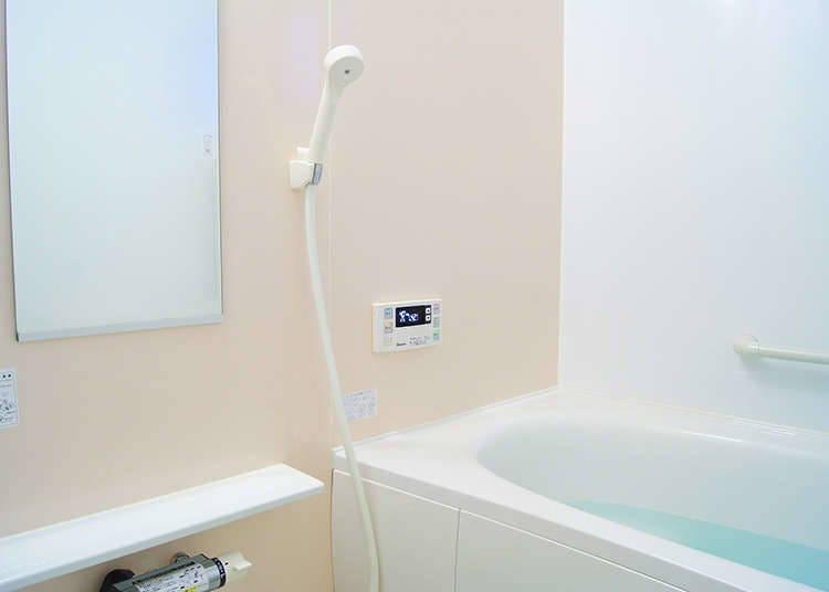 日本的普通浴室