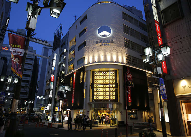 Grand Opening of BEAMS JAPAN