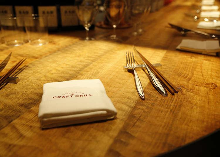 Craft liquor & food