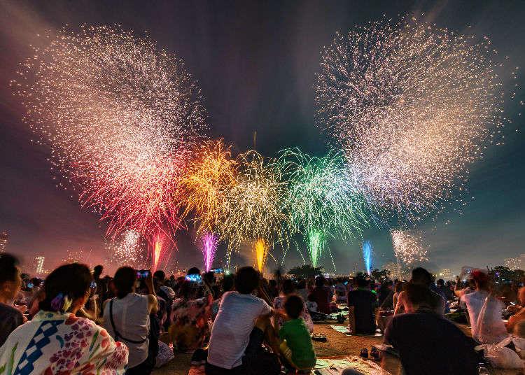 [2018年花火特集]讓東京夏日的夜空變得多彩的煙火大會