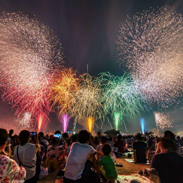 Japan in Summer: Tokyo Fireworks Calendar 2019!