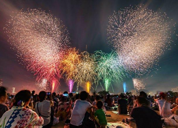 Adachi Fireworks Festival 2019 (July 20, 19:30 - 20:30)