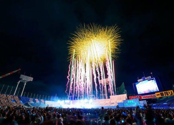 Jingu Gaien Fireworks Festival 2019 (August 10, 19:30 – 20:30)