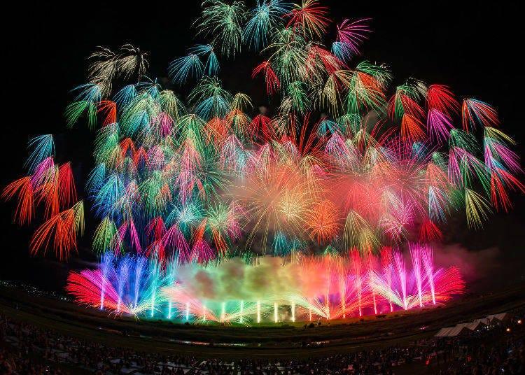 """Tokyo Fireworks Festival """"Edomode"""" 2018 (August 11, 19:10 – 20:30)"""