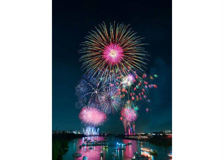 Itabashi Fireworks Festival 2019 (August 3, 19:00 - 20:30)