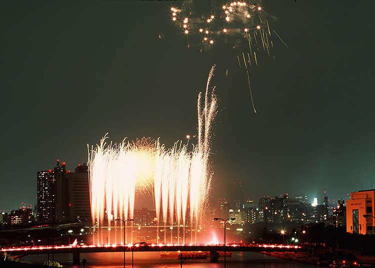 3. 스미다강 불꽃놀이