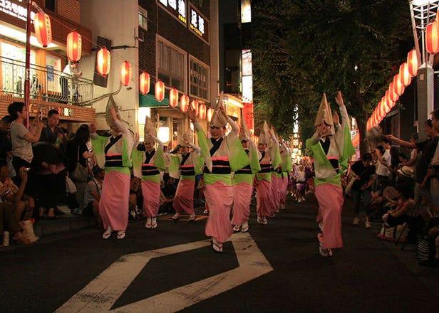 炎夏疯玩!7月份的东京活动指南