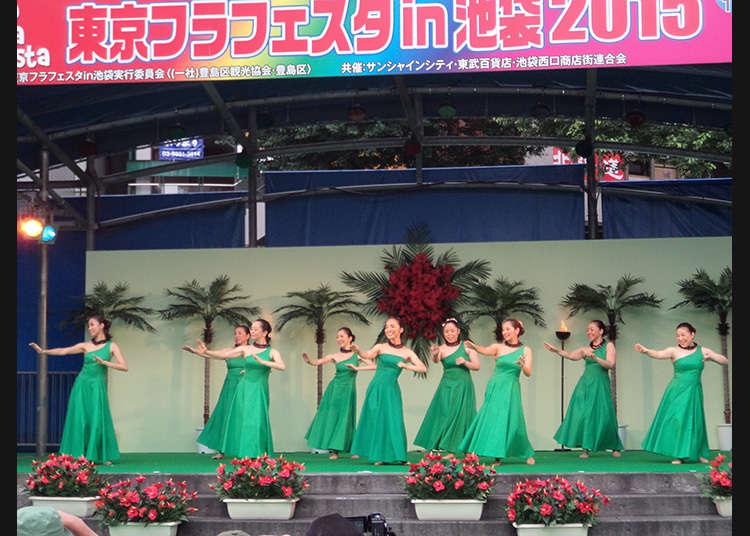 The 15th Tokyo Hula Festa in Ikebukuro