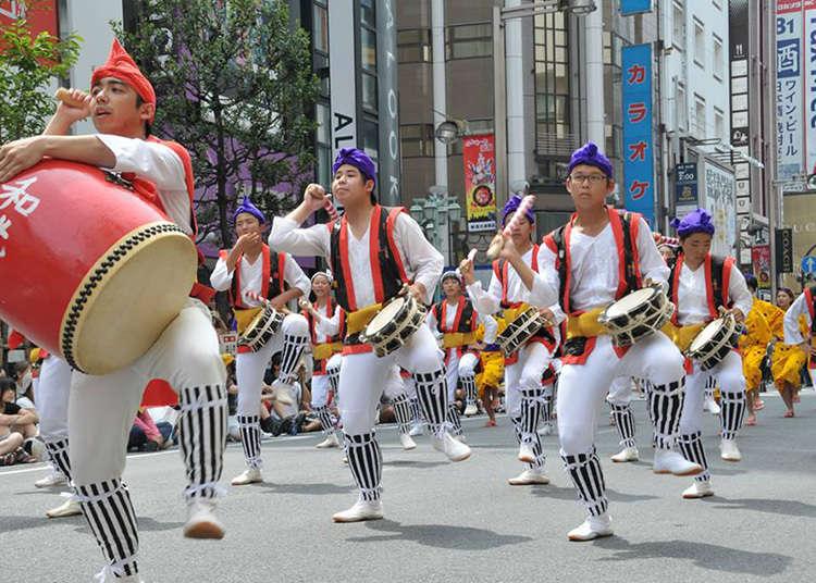 「2017新宿EISA太鼓舞祭」
