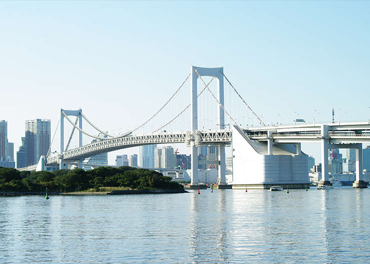 The Top Two Photo Spots in Odaiba