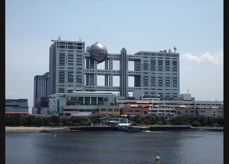 The Top Two Photo Spots in Odaiba - LIVE JAPAN (Japanese
